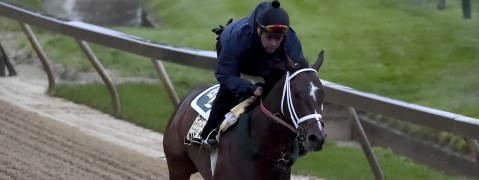 Mick likes Signalman in the Preakness. Signalman?  (AP Photo/Will Newton)