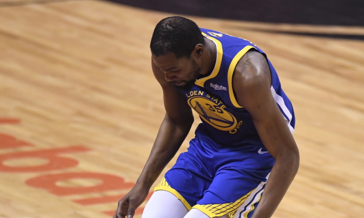 Warriors star Kevin Durant says on Instagram post that he has had surgery on ruptured Achilles