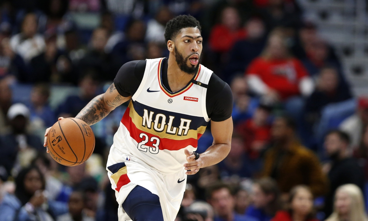 Anthony Davis traded to Lakers per Associated Press source. Pelican haul includes Lonzo Ball, Brandon Ingram, Josh Hart and 3 1st rounders