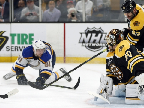 NHL Saturday -- Dietel on Bruins v Blues Game 3