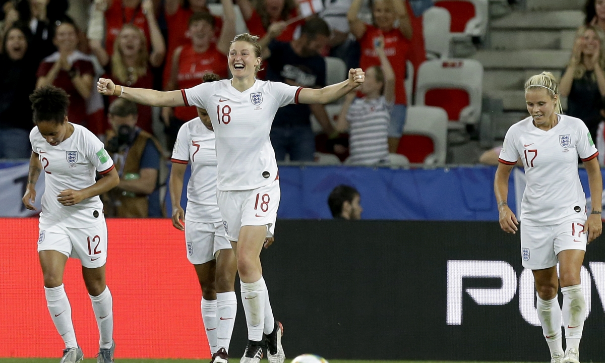 England goes to 3-0 at Women's World Cup with 2-0 win over Japan as Ellen White scores twice – Japan also makes Round of 16