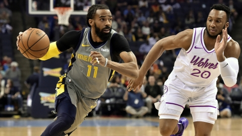 online retailer 39a91 71324 NBA Trade: Memphis Grizzlies trade PG Mike Conley to Utah ...