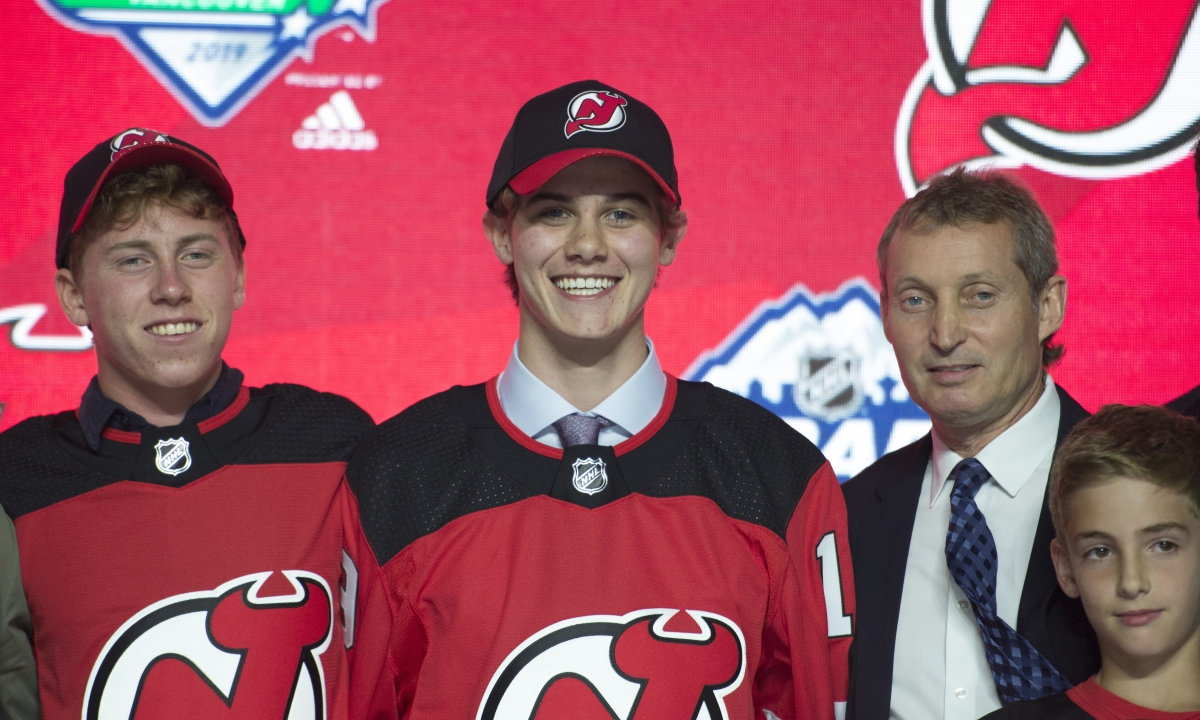 NHL Draft: Devils select center Jack Hughes with 1st pick, Rangers select Finnish winger Kaapo Kakko with 2nd pick – plus entire 1st round