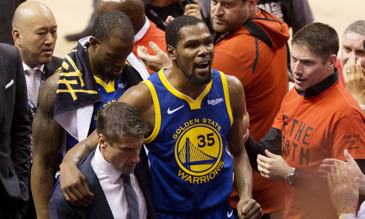 Warriors Steph Curry, Steve Kerr respond to Kevin Durant injury, surgery and second-guessing