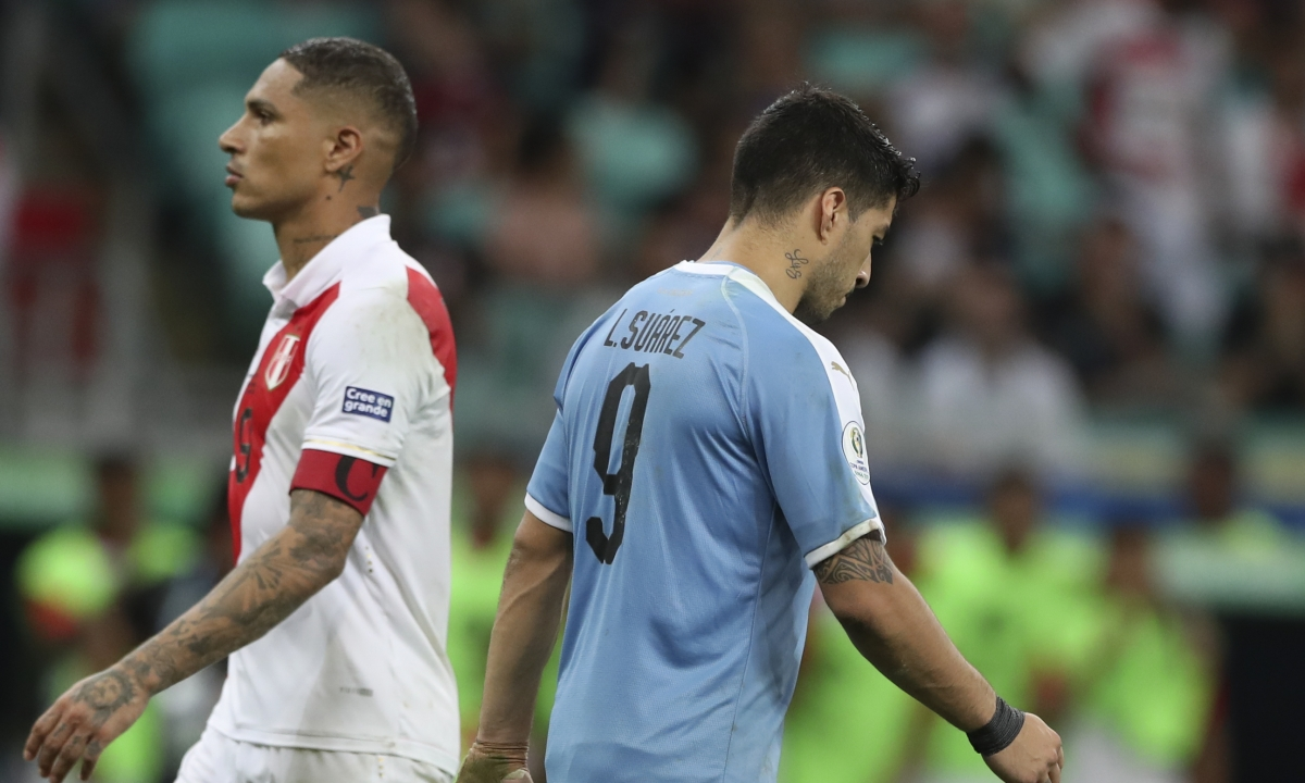Peru advances to Copa America semifinals, topping Uruguay 5-4 on penalties - next up Chile on Wednesday