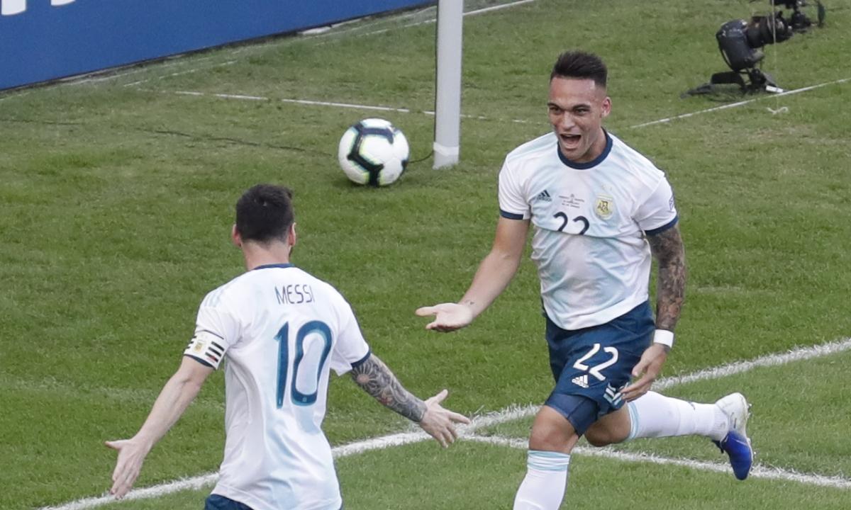 Messi silent, Martinez scores as Argentina beats Venezuela 2-0, will face Brazil in Copa América semifinal