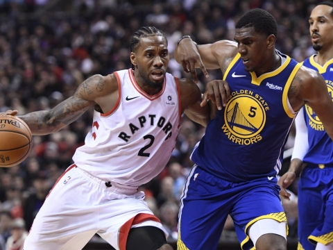NBA Sunday - Frank on Warriors v Raptors Finals Game 2, Kawhi Leonard, Kevin Durant