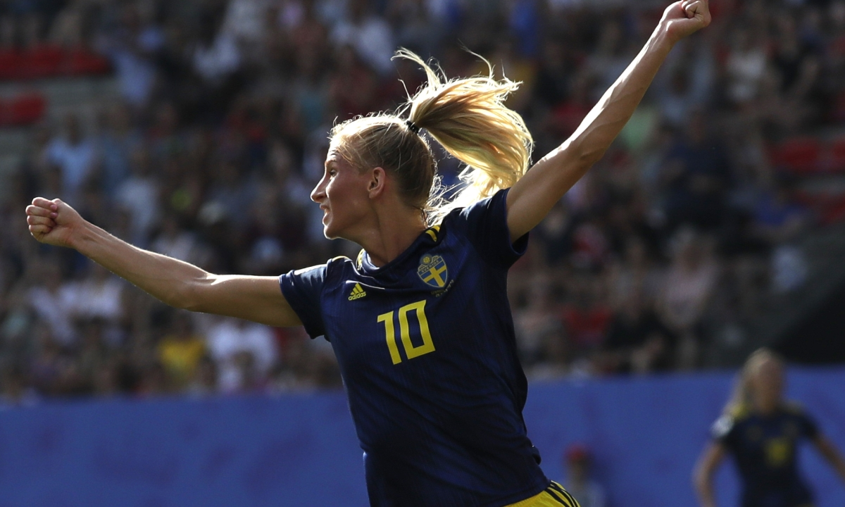 Sweden upsets Germany 2-1 to advance to semifinals at Women's World Cup, semis to feature Sweden vs. The Netherlands and USA vs. England