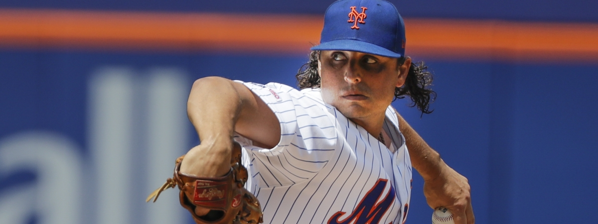 New York Mets' Jason Vargas delivers a pitch during the first inning of a baseball game against the Pittsburgh Pirates Sunday, July 28, 2019, in New York. (AP Photo/Frank Franklin II)