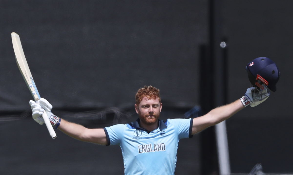 Cricket World Cup 2019: England tops New Zealand, coasts into semifinals behind Bairstow's century