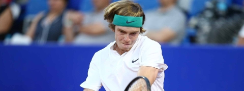 After two great matches, Andrey Rublev reaches the Hamburg semis to play Pablo Carreno Busta.