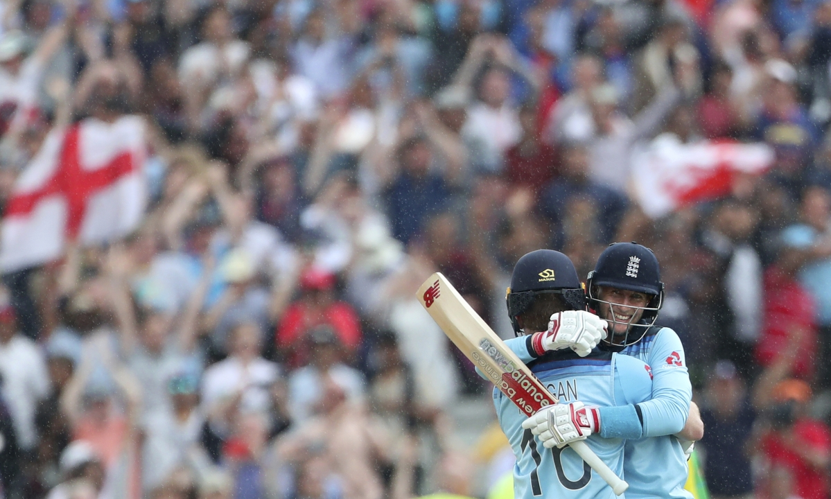 England going batty as eight wicket win over Australia puts it in Cricket World Cup Final