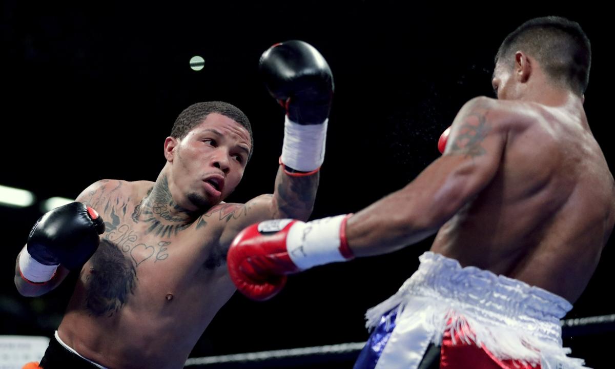 Gervonta Davis stops Ricardo Nunez in 2nd round of WBA title fight