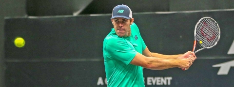 Reilly Opelka plays John Isner in Atlanta in a battle of American giants.