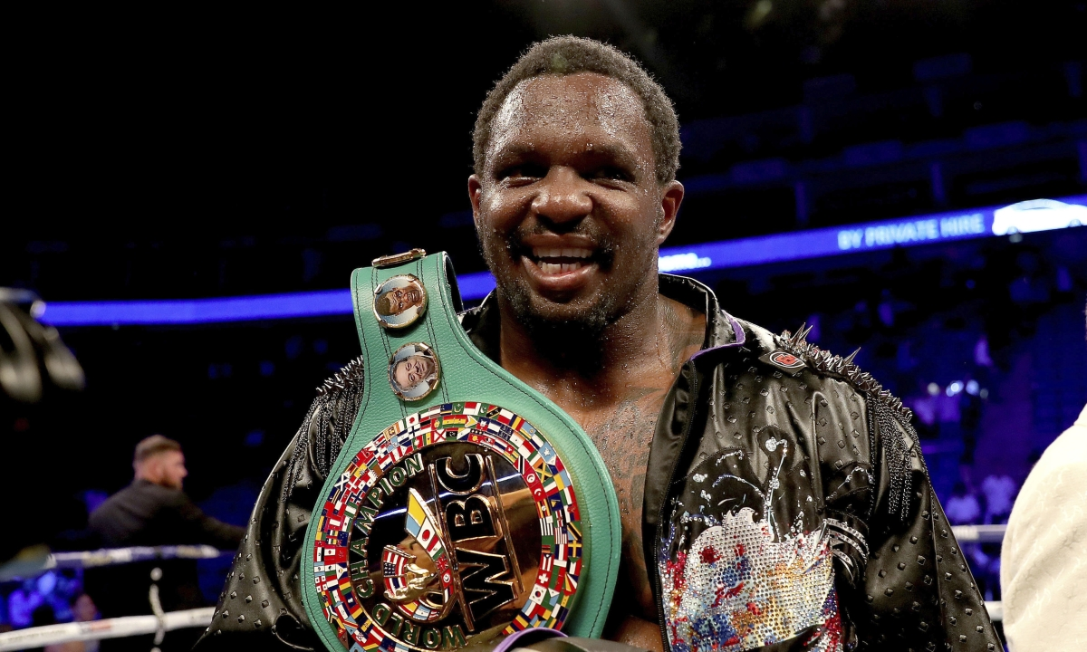 Dillian Whyte survives 9th round knockdown to beat Oscar Rivas and claim interim WBC heavyweight title
