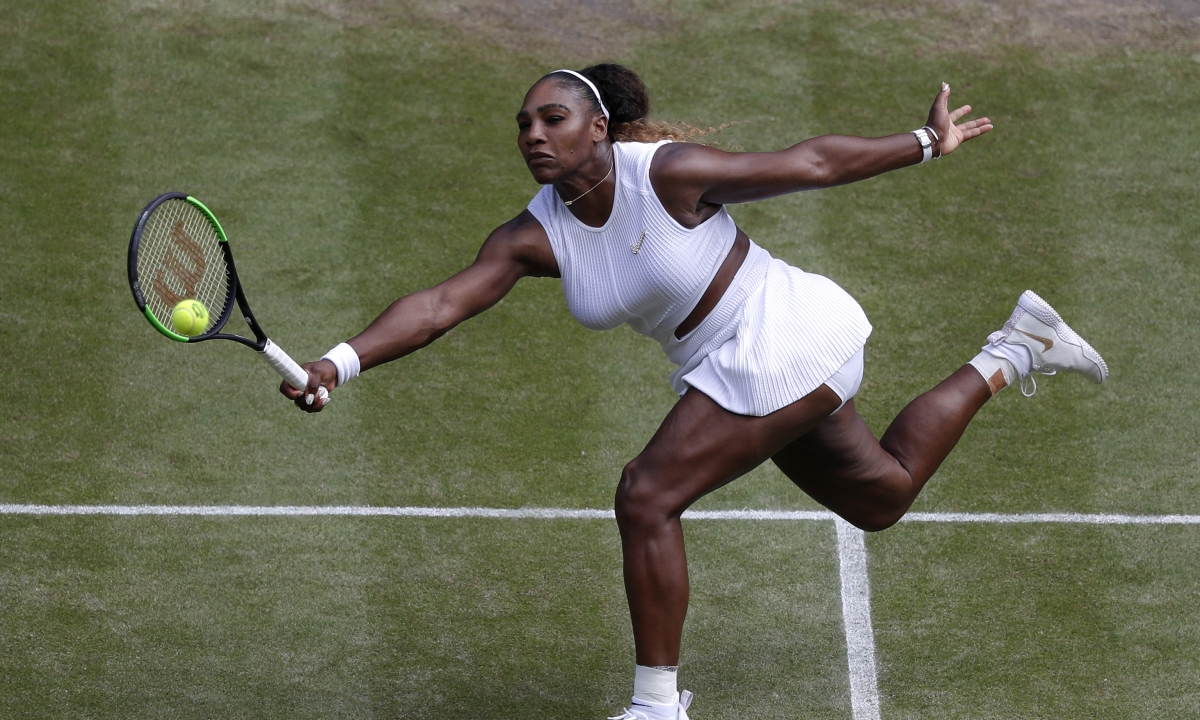 Abrams picks Serena Williams vs. Simona Halep in the Wimbledon Women's Final