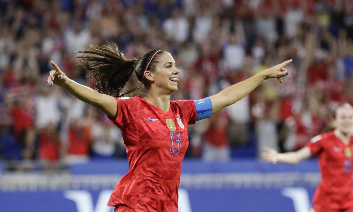 Alex Morgan scores go-ahead goal,  Alyssa Naeher stops penalty kick and U.S. wins 2-1 over England – head to Women's World Cup finals