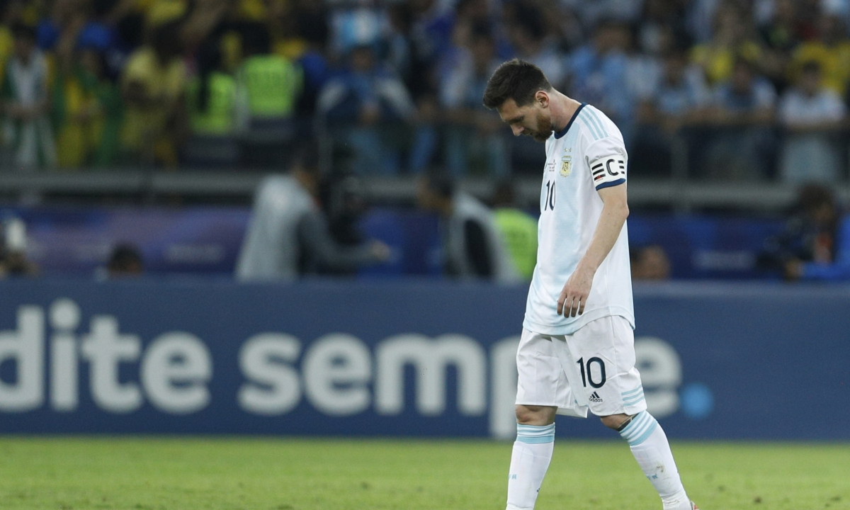 Messi fails again with Argentina at Copa America