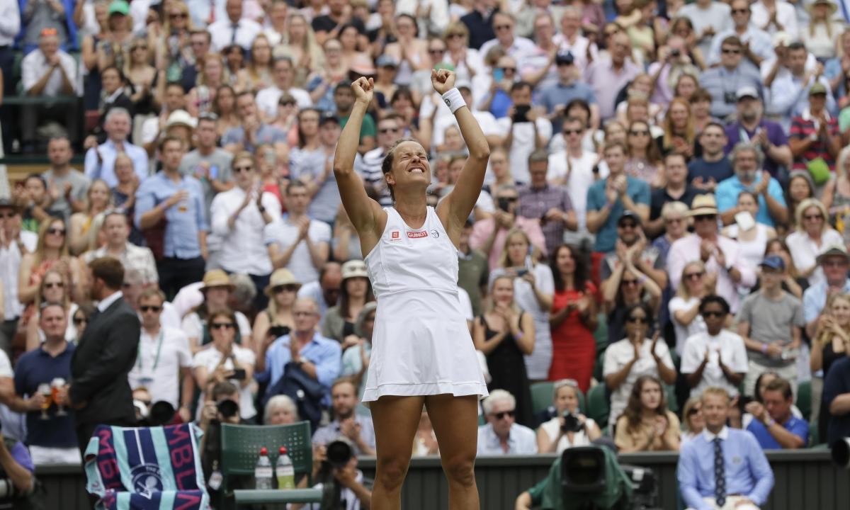 Wimbledon Thursday Women's Semis: Abrams picks Serena Williams vs. Barbora Strycova, Simona Halep vs. Elina Svitolina