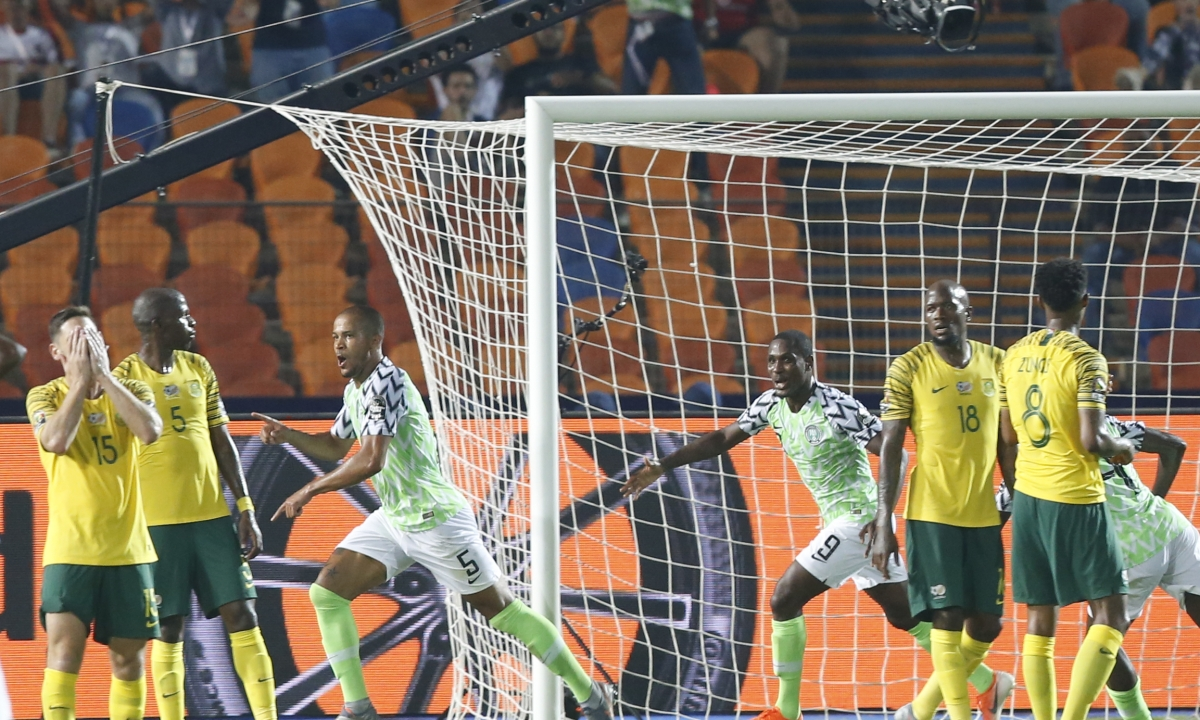 At African Cup, Nigeria beats South Africa 2-1, Senegal beats Benin 1-0 – both winners advance to semifinals