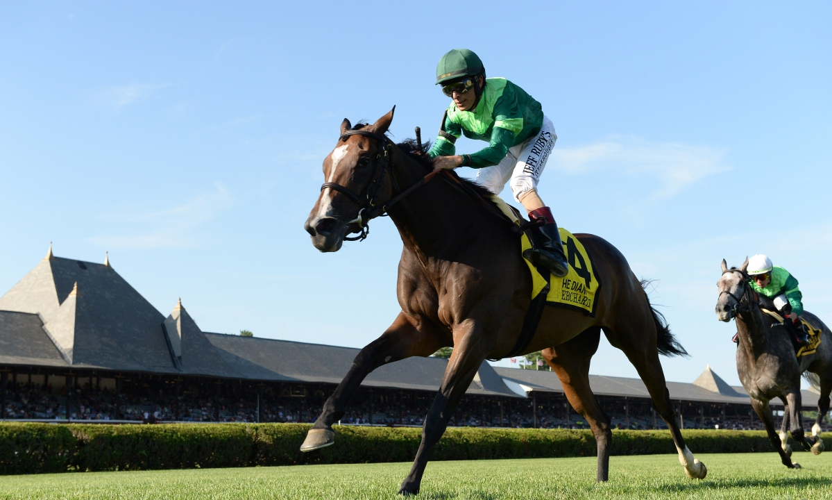 Saturday Horse Racing: Garrity picks the Arlington Million plus stakes at Saratoga and Del Mar