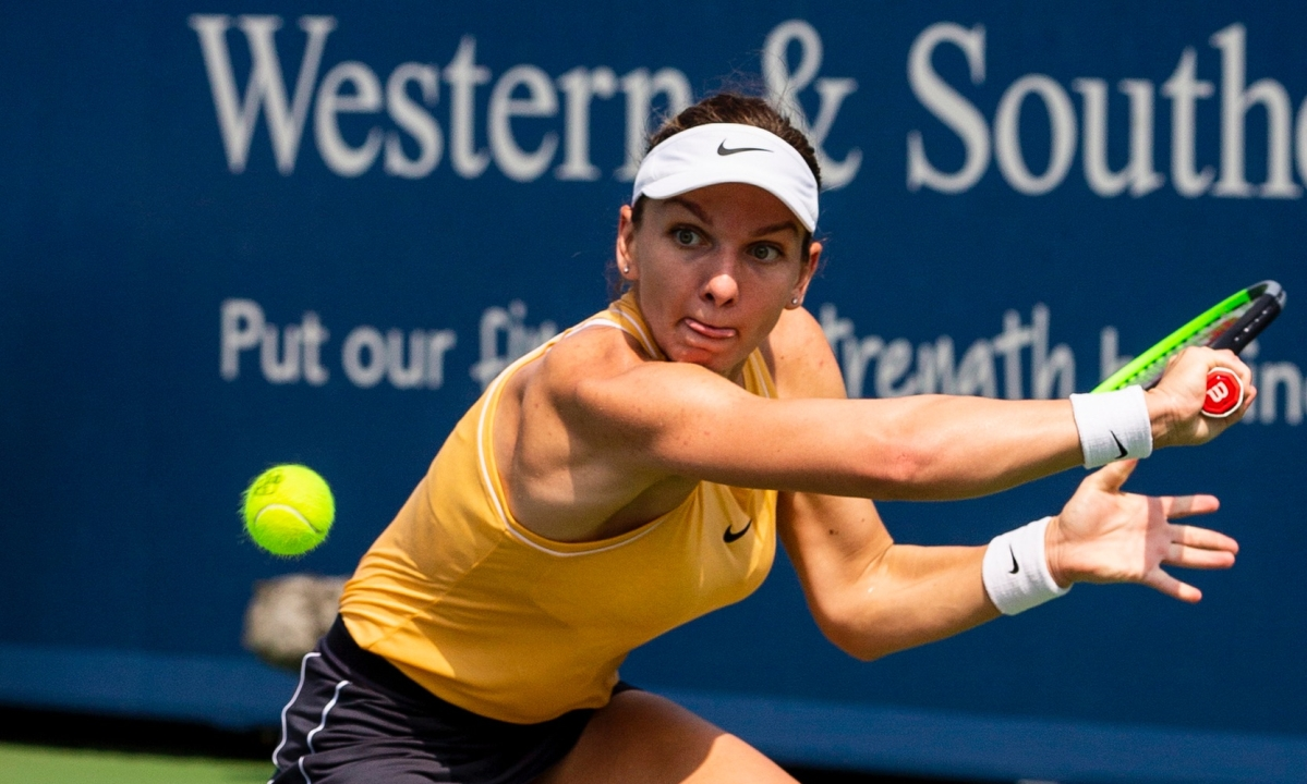 Western & Southern Open 2019: Simona Halep rallies to beat Ekaterina Alexandrova; rusty Maria Sharapova eliminated