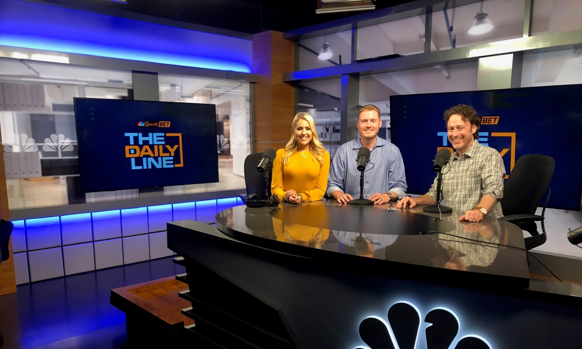 NBC Sports Radio's The Daily Line to be simulcast on television affiliates, including NBC Sports Philadelphia+, beginning Monday, Aug. 5