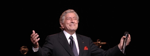 Tony Bennett in performance