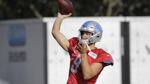wholesale dealer de6f0 11582 Fantasy Life NFL Preview: 2019 Detroit Lions – Is Matthew ...