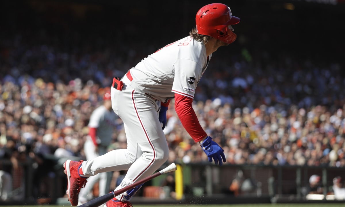 Monday Quickie Quiz & Single Digits - Phillies, Eagles, NFC East, Bryce Harper, Rhys Hoskins, Time Zones, Hits, Walks