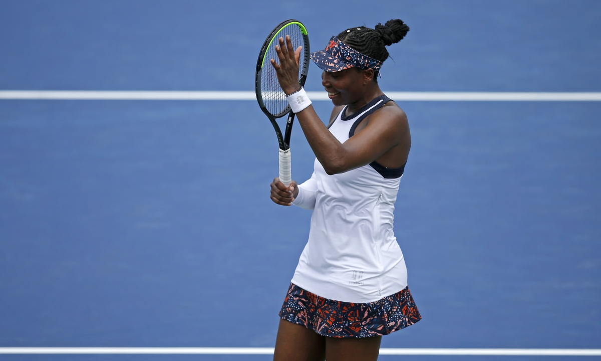 Venus Williams upsets Kiki Bertens at the Western & Southern Open; Serena withdraws