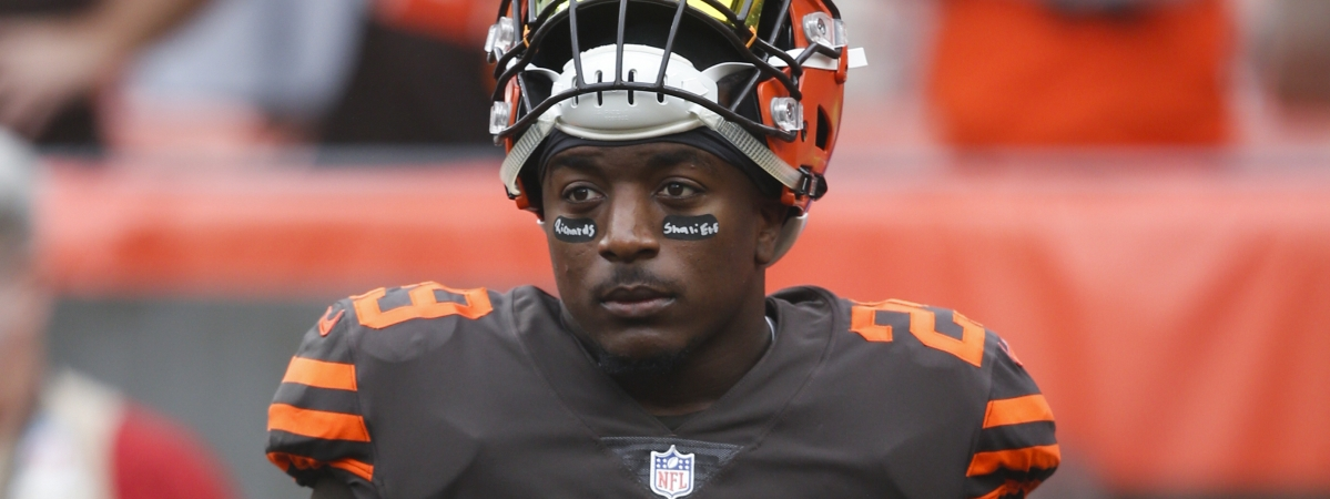 The Browns have traded disgruntled running back Duke Johnson to the Houston Texans for an undisclosed 2020 draft pick. (AP Photo/Ron Schwane, File)