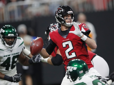 Fantasy Life NFL Preview: 2019 Atlanta Falcons – Matt Ryan has an improved O-line and that should make his fantasy owners happy