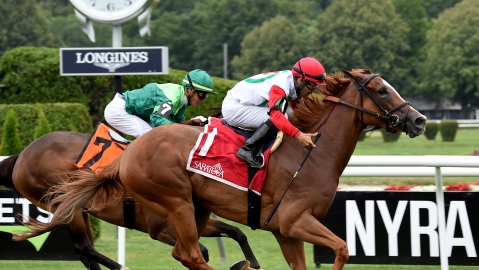 Saturday Stakes: Garrity picks Saratoga, Monmouth and Del