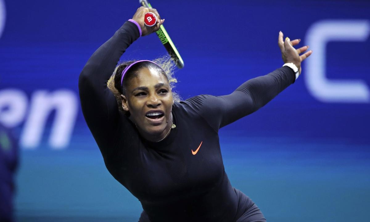 Serena Williams routs Maria Sharapova 6-1, 6-1 at US Open