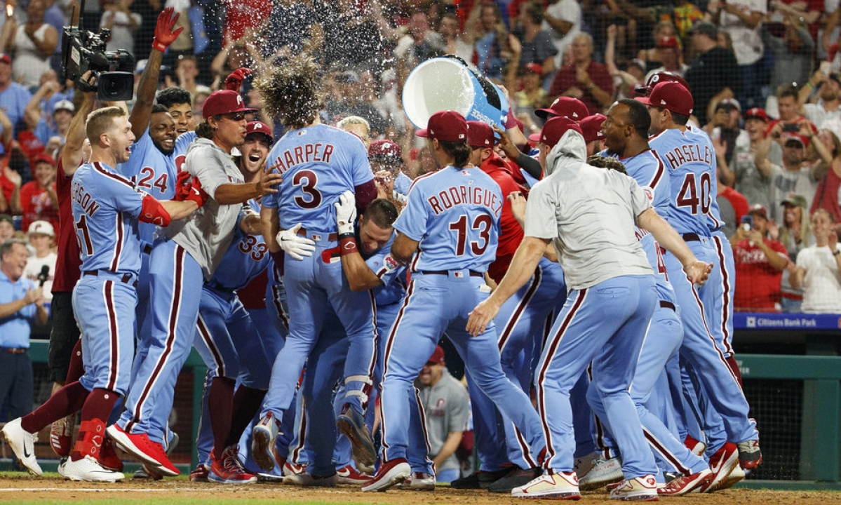 Friday Quickie Quiz & Single Digits - Phillies, Bryce Harper, Walk-off Grand Slams, Charlie Manuel, Larry Bowa, Tony Taylor, John Kruk