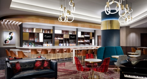 Photo: Artist's rendering of the planned Borgata Lobby Bar