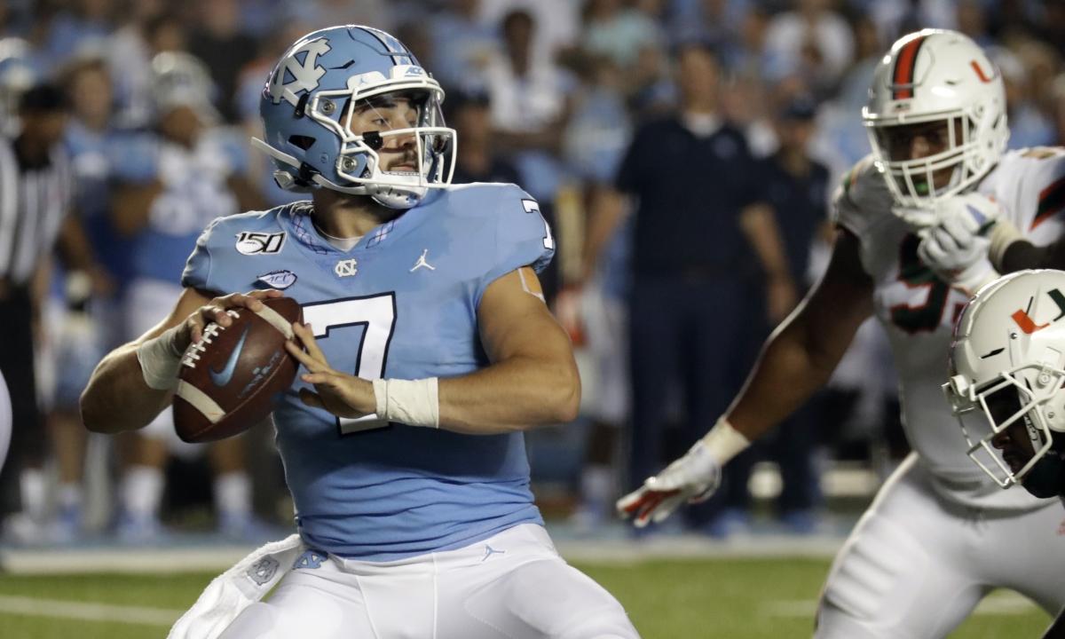 Friday NCAA Football: Eckel picks North Carolina at Wake Forest and Kansas at Boston College