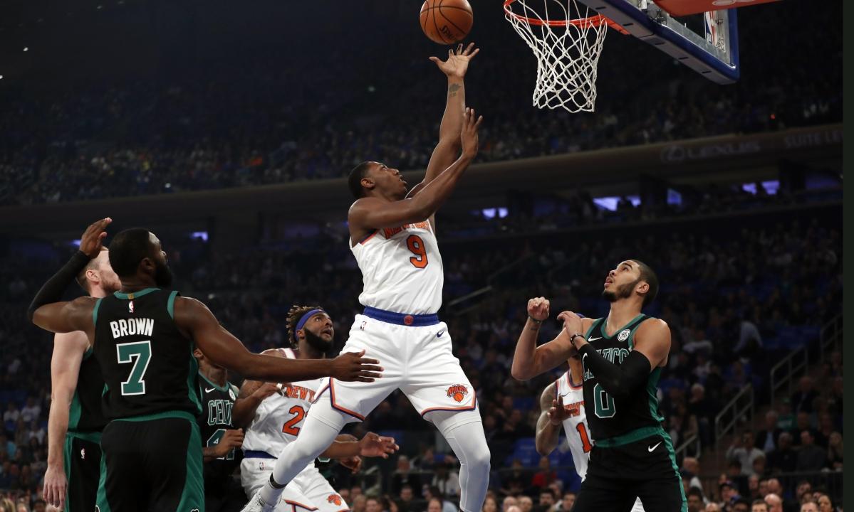NBA Monday: Greg Frank picks Bulls vs Knicks and 76ers vs Hawks — will RJ Barrett lead the Knicks to their first win of the season?
