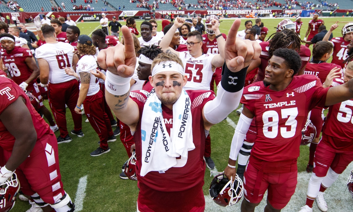 AAC College Football: Geier picks UCF at Temple, USF at ECU