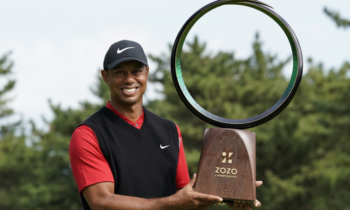 Golf: Tiger Woods wins Zozo Championship and ties Sam Snead's record of 82 PGA Tour wins