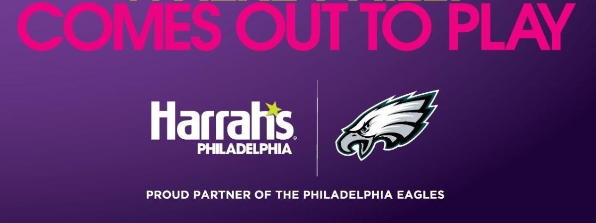 Harrah's Philadelphia partners with the Philadelphia Eagles