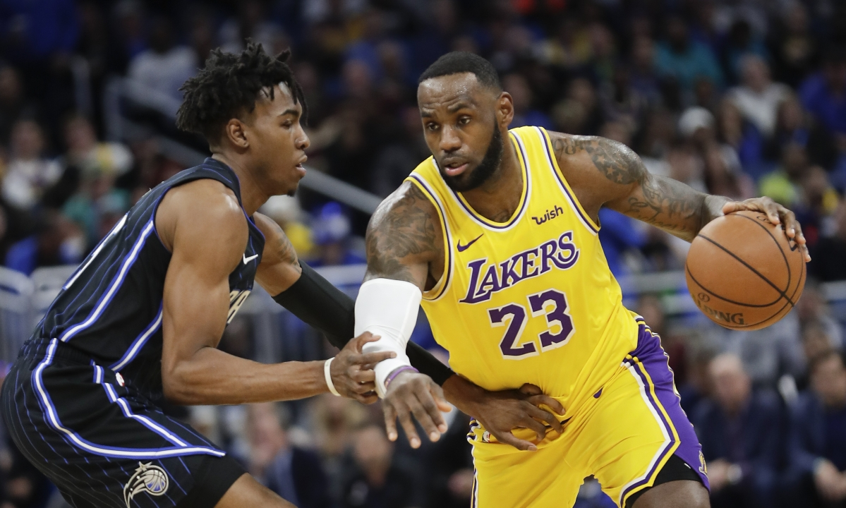 NBA Friday: Greg Frank picks Rockets vs Magic and Lakers vs Heat — will LeBron James lead LA to the over or under?