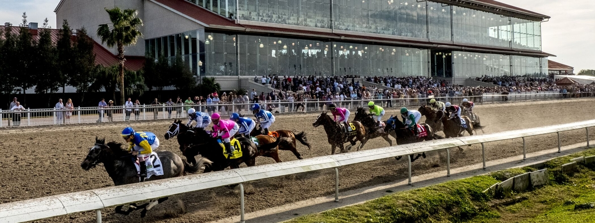 Fair Grounds Race Course & Casino in New Orleans