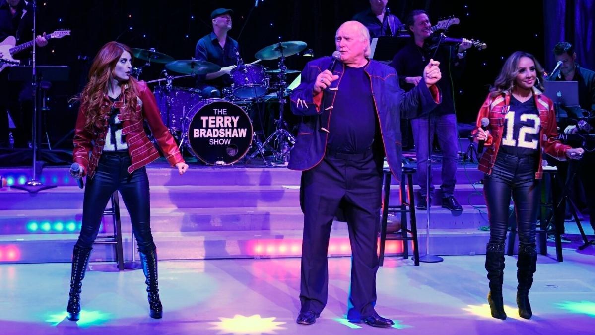 Terry Bradshaw performs Friday night at the Borgata.