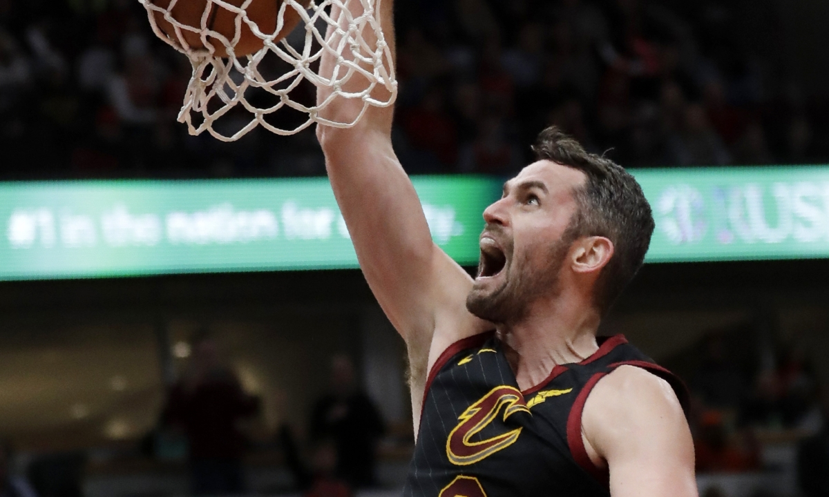 NBA Thursday bet of the day: Wizards at Cavaliers — Can Kevin Love lead Cleveland to a much-needed win?