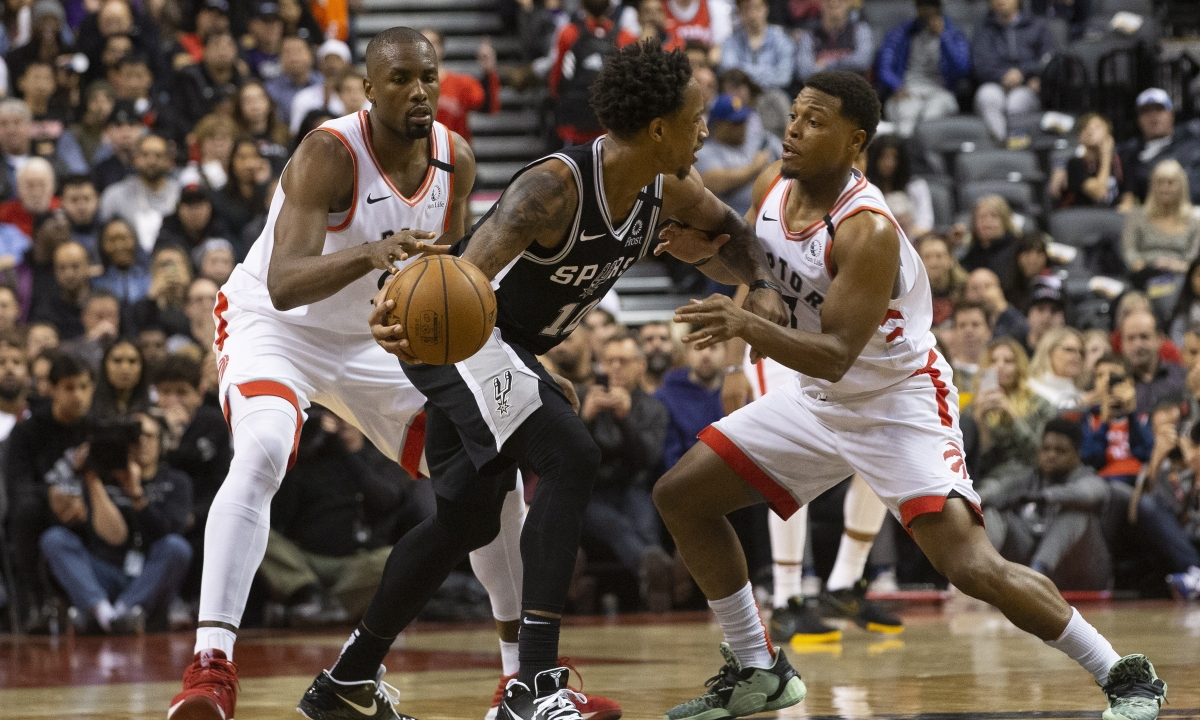 NBA Sunday: Raptors vs Spurs in San Antonio should be a low-scoring battle similar to game two weeks ago