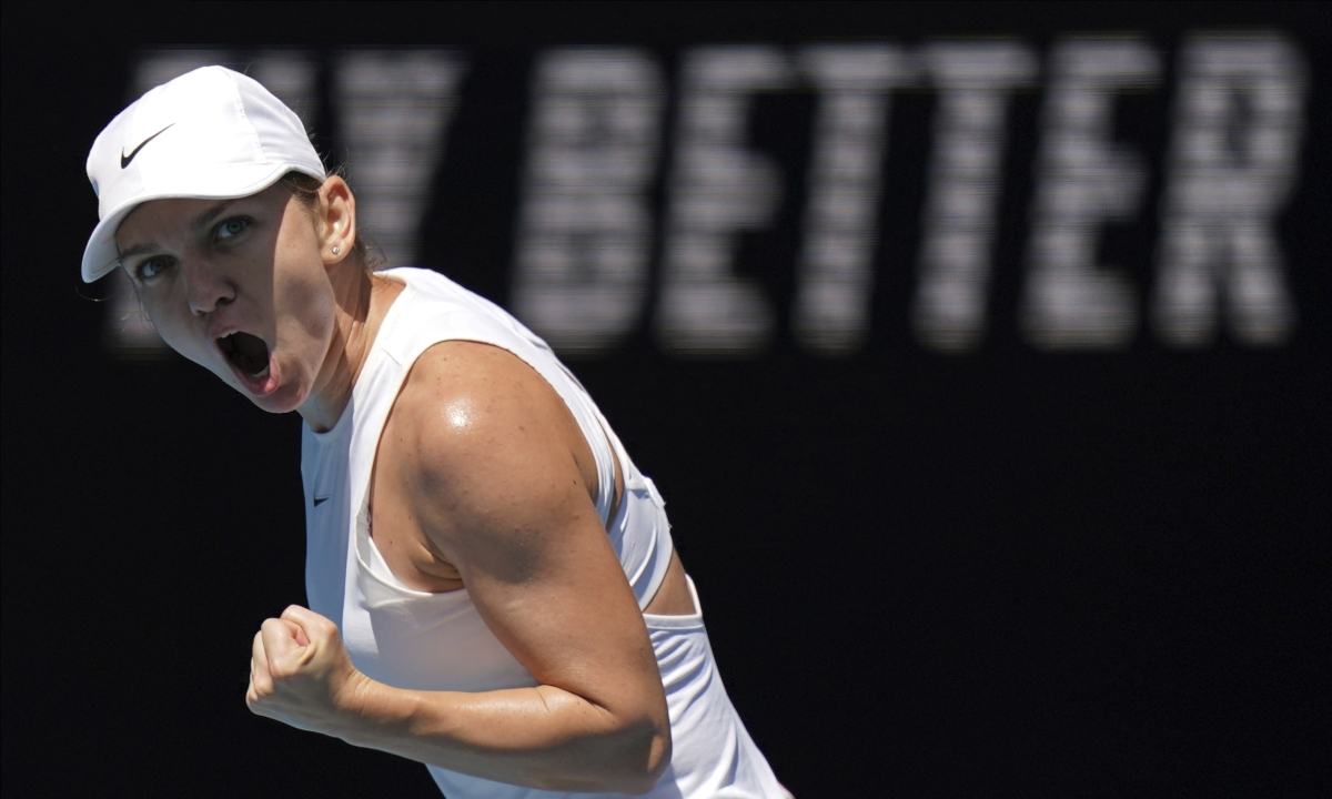 Australian Open Women's Semifinal: No matter who she plays, Romania's Simona Halep is on top of her game and headed for another major title