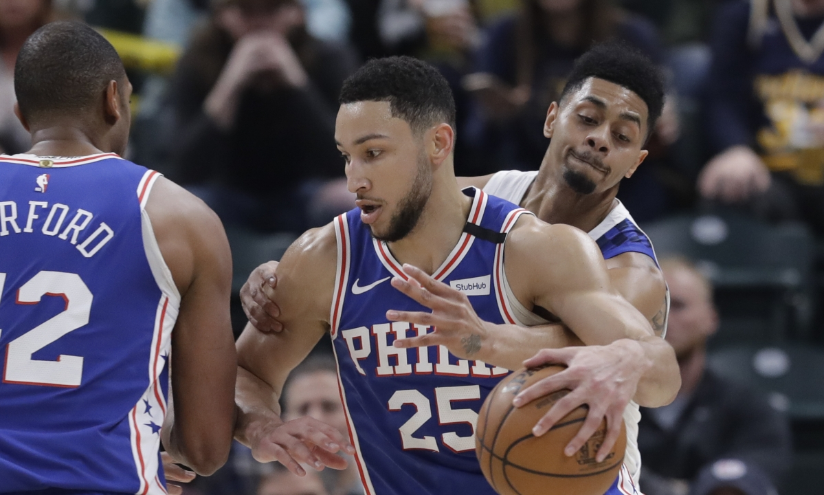 NBA Wednesday: Nets vs 76ers — will Ben Simmons lead the Embiid-less Sixers to a hot start?