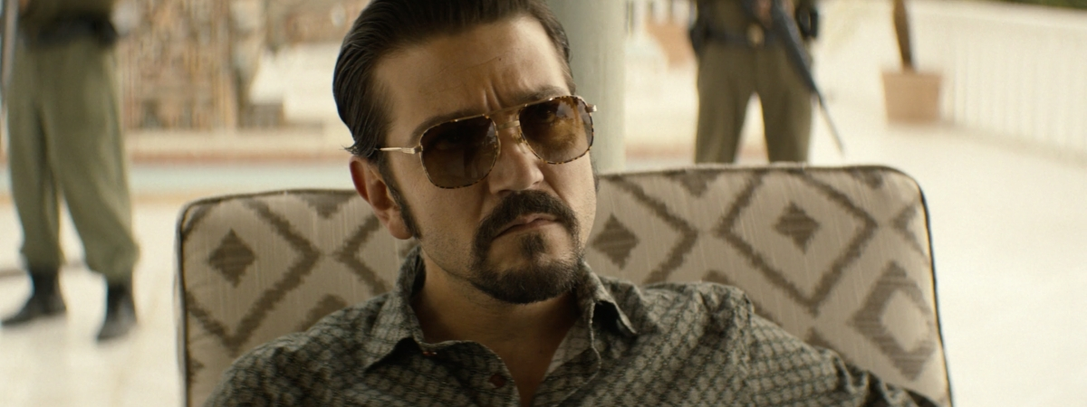 Diego Luna as Miguel Ángel Félix Gallardo on 'Narcos: Mexico' on Netflix
